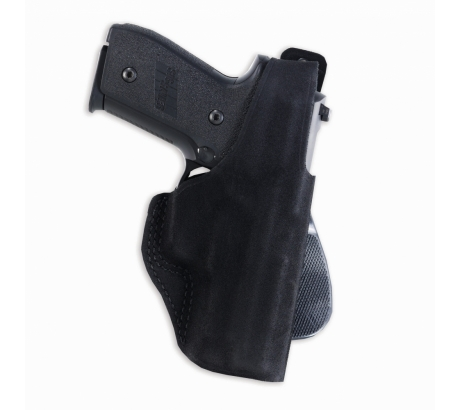Galco Paddle Lite Holster for Viridian w ECR,Ruger LCP,Right Hand,Black by