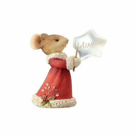 The Heart of Christmas 4057666 Mouse Believe - Mouse Christmas Ornaments