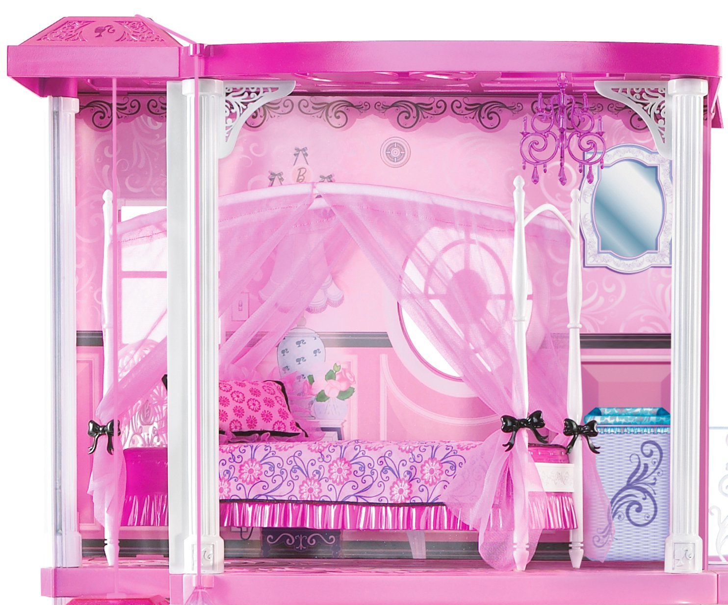 Barbie Pink 3 Story Dream Townhouse Walmart Com