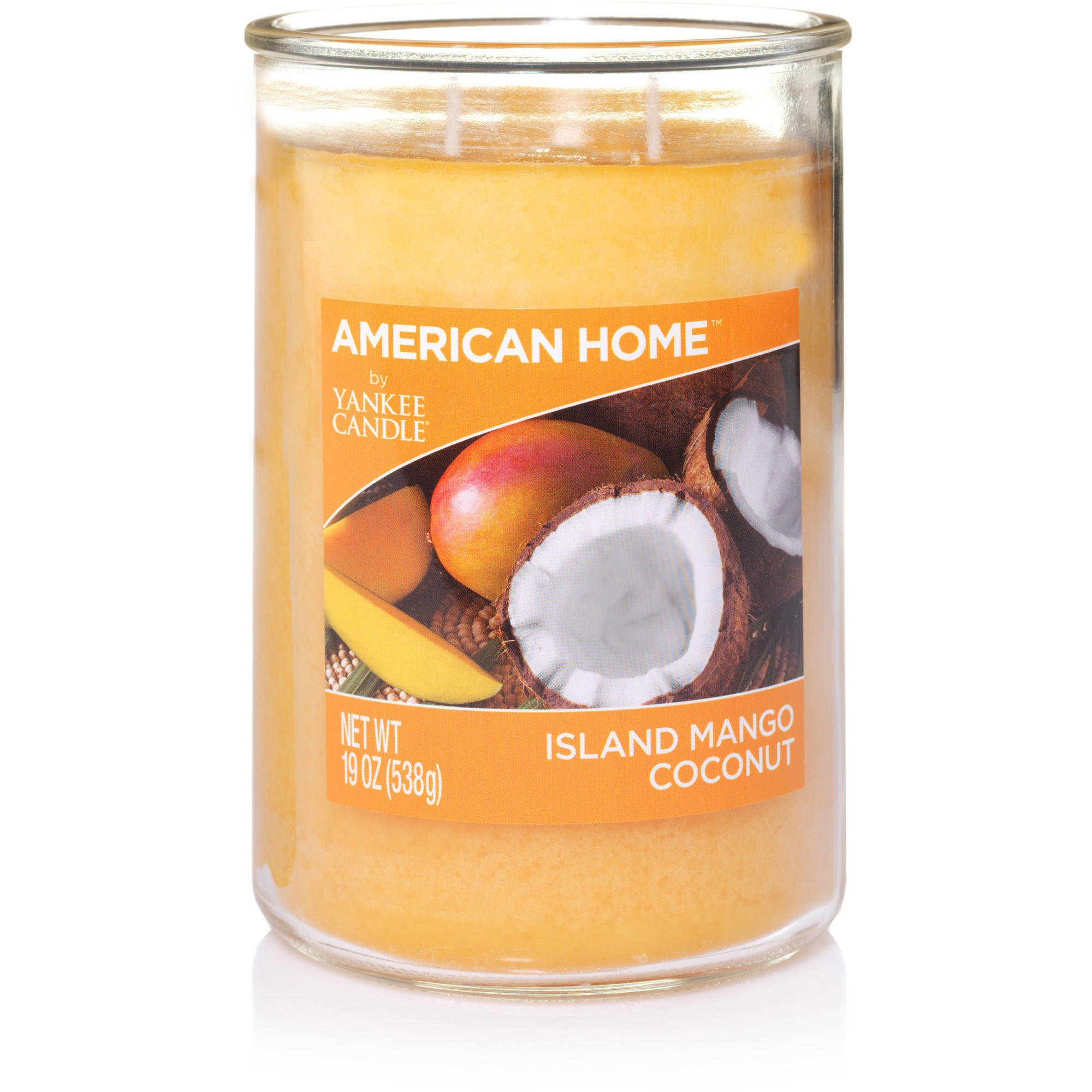 American Home by Yankee Candle Island Mango Coconut, 19 oz Large 2-Wick Tumbler
