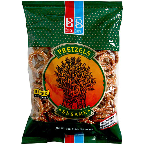 Beigel Beigel Sesame Pretzels, 7.1 oz, 24 Pk (Pack of 24)