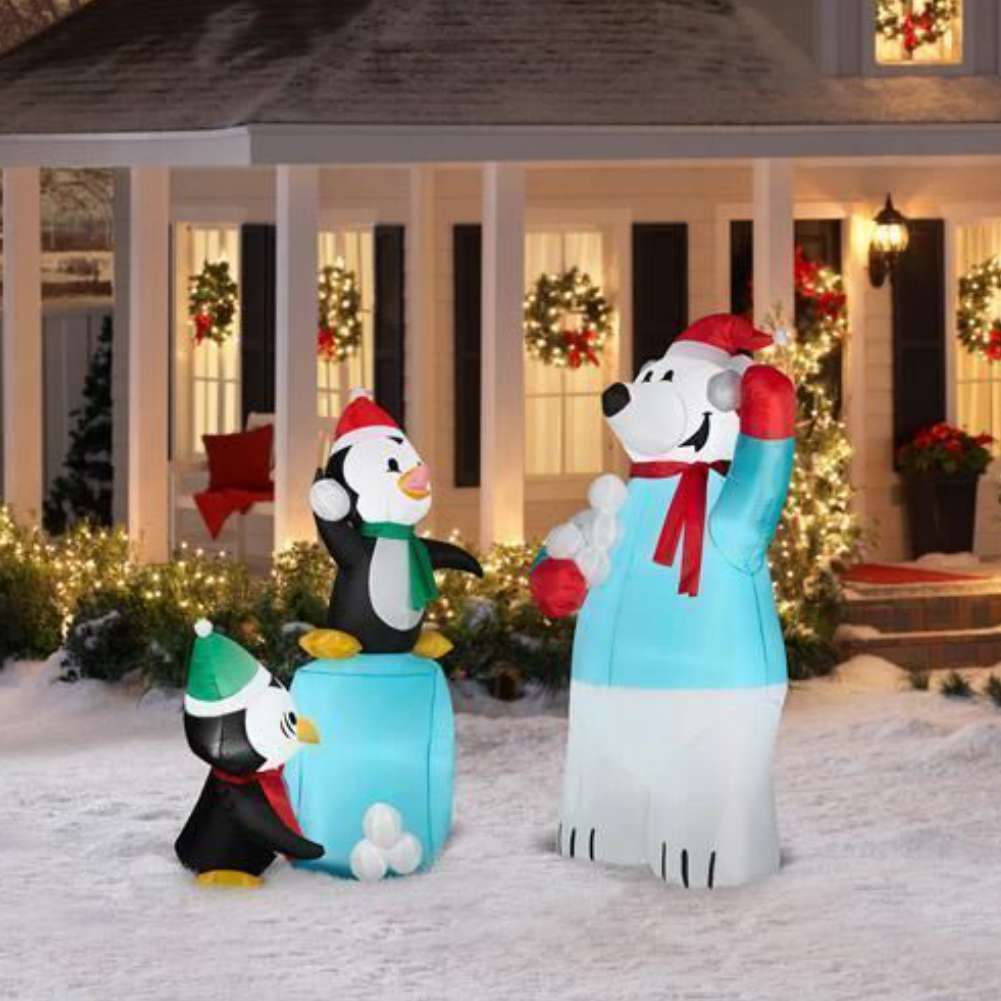 Walmart Inflatable Christmas Yard Decor