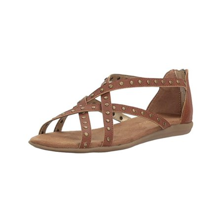 Womens Chlosing Time Strappy Studded Strappy Sandals