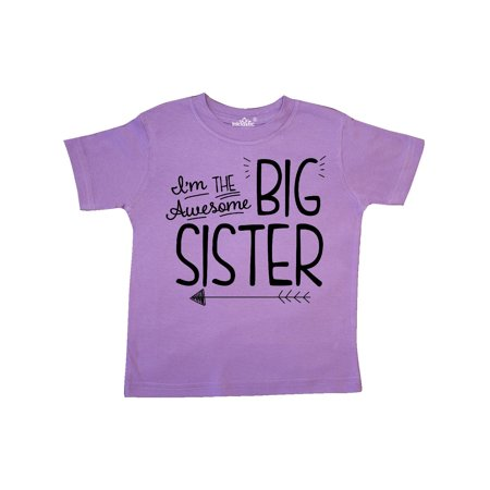 93cc121b9c i m the awesome big sister Toddler T-Shirt - Walmart.com