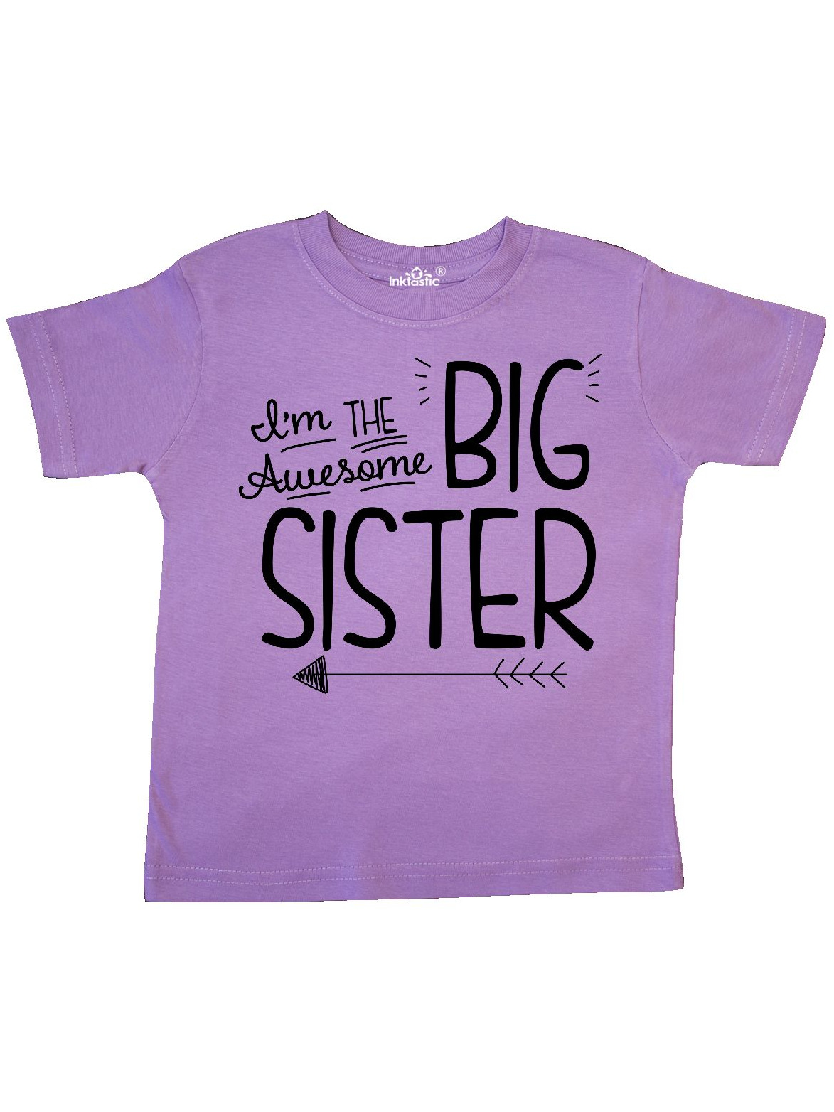 i'm the awesome big sister Toddler T-Shirt