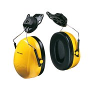 3M Peltor Optime 98 Cap-Mount Earmuffs, Hearing Conservation H9P3E