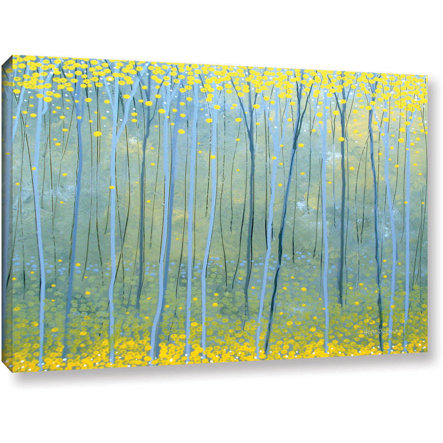 "ArtWall Herb Dickinson ""Ginko Forest"" Gallery-Wrapped Canvas"