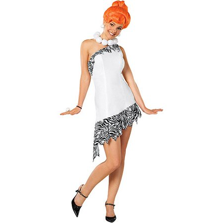 Wilma Flintstone Adult Halloween - Flintstone Costumes For Adults