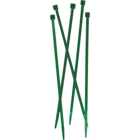 Tenax 50 Pcs. 7 In. Green Fence Ties 30012006