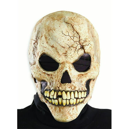 Cracked Skull Mens Adult Skeleton Accessory Costume Mask