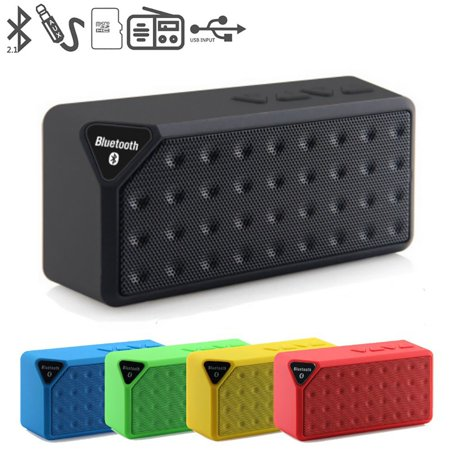 Water Cube X3 Wireless Speaker Outdoor Small Mini Portable Subwoofer - image 7 of 7