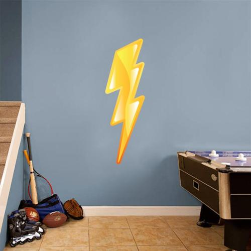 Sweetums Lightning Bolt Printed Wall Decal