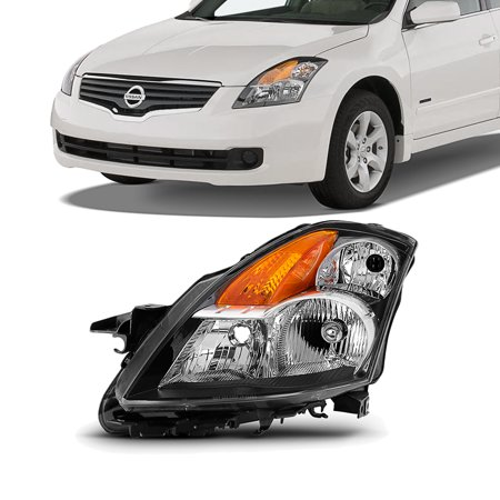 2009 Bmw Sedan (Fit 2007 2008 2009 Altima 4Dr Sedan Clear Headlight Driver Left Side Replacement)