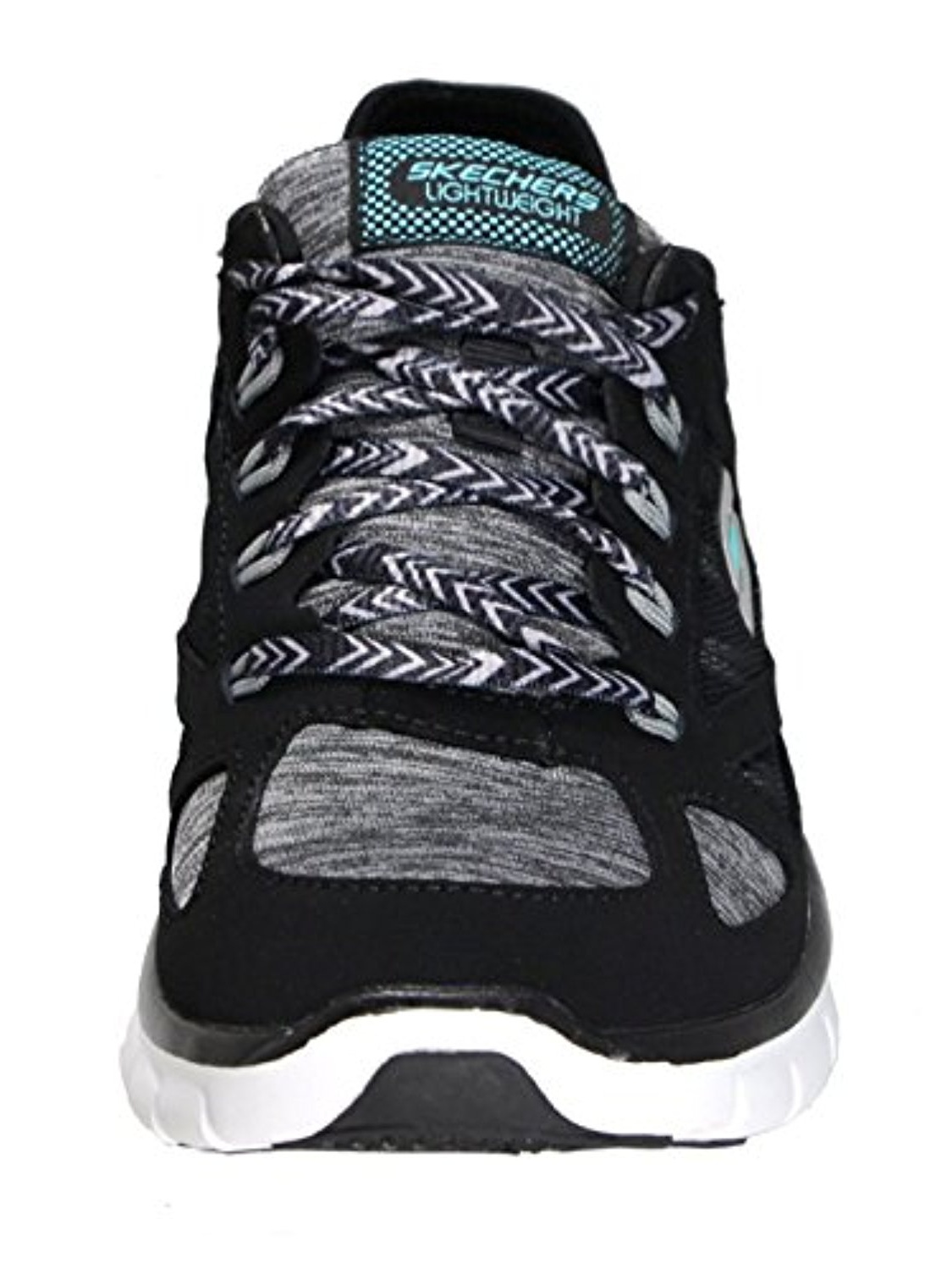 Skechers Synergy Statuesque Women's Casual Sneakers, Black/White, 9 US