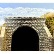 Chooch Enterprises CHO8350 HO Double Cut Stone Tunnel