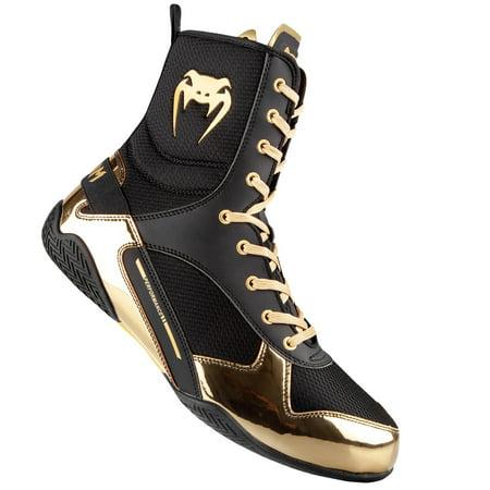 Venum Elite Boxing Shoes (Black And Red Jordan 13 Size 6)