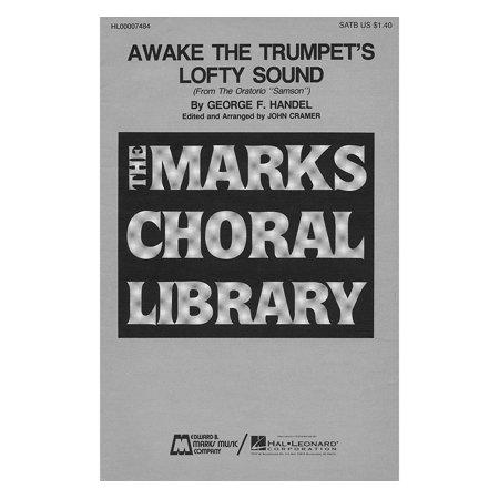 Edward B. Marks Music Company Awake the Trumpet's Lofty Sound SATB composed by George Friedrich -