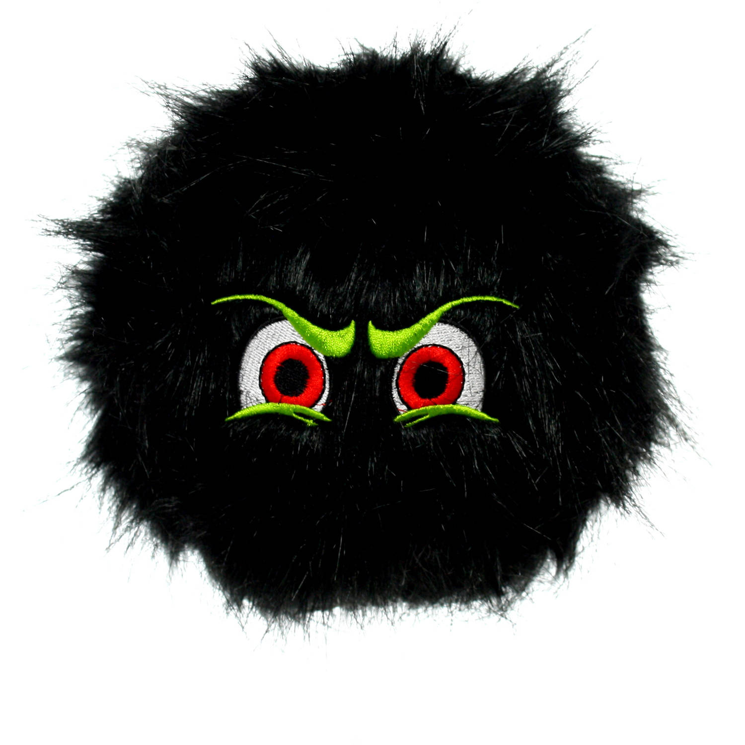 Silly Squeaker iBall, Large, Black