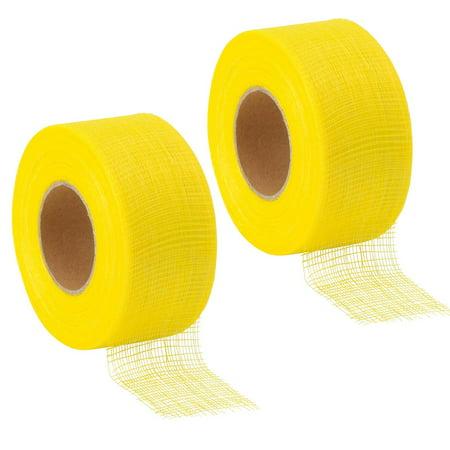 """2 Rolls Drywall Joint Tape Ultra Thin Self Adhesive Fiberglass Dry Wall 2""""X 180"""