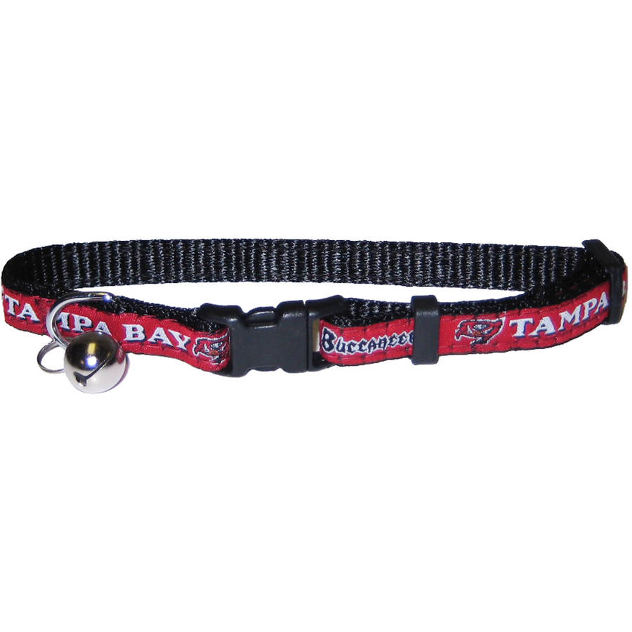 Pets First NFL Tampa Bay Buccaneers Cat Collar