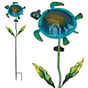 "Regal Art  and  Gift 11366 - 40"" x 12"" Turtle Garden Stake Solar LED Light"