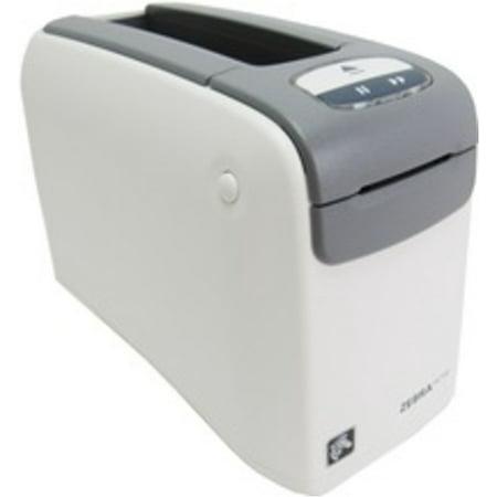 Refurbished Zebra HC100 Direct Thermal Printer - Monochrome - Desktop - Wristband Print - 1.19