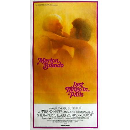 Last Tango In Paris (1973) 20x40 Movie Poster (Gato Barbieri Last Tango In Paris Tango)