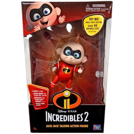 Incredibles 2 Jack-Jack Talking Action Figure - Jack Jack The Incredibles