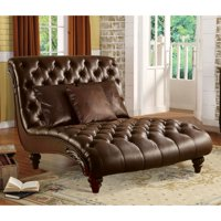 Acme Furniture Anondale Chaise with 3 Pillows