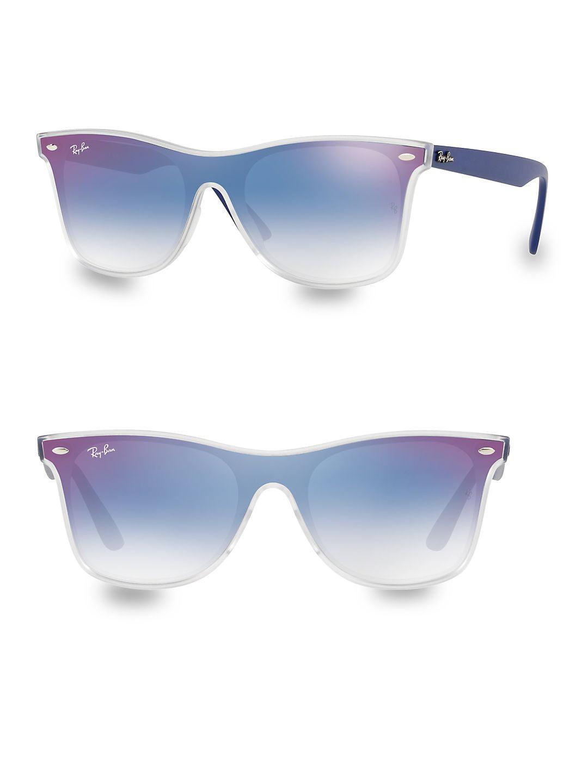 Ray-Ban Unisex RB4440N Blaze Wayfarer Sunglasses, 41mm