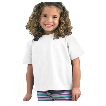 Rabbit Skins Baby Boy'sCotton Crewneck T-Shirt, Style 3301J (Baby Blue And White Jordans)