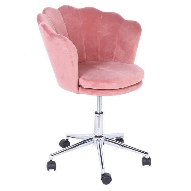 Chiciris Cute Pink Desk Chair For Teens, Desk Chair For Teenage Girl Room