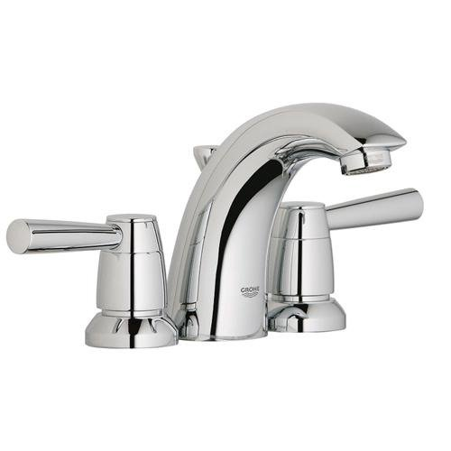 Grohe Arden Mini Widespread Bathroom Faucet with Double Lever Handles
