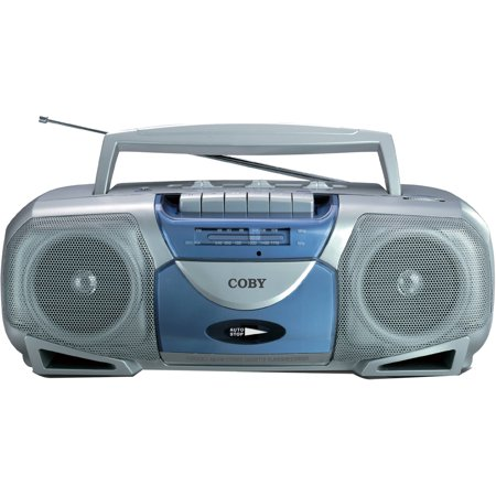 Coby cd 190 blk portable  pact cd player moreover QuantumFX AMFM Radio Portable Boombox Cassette Recorder CDMP3AUX besides Sony portable radio cd player moreover B00008VF5W further Cassette Player. on coby portable cassette player