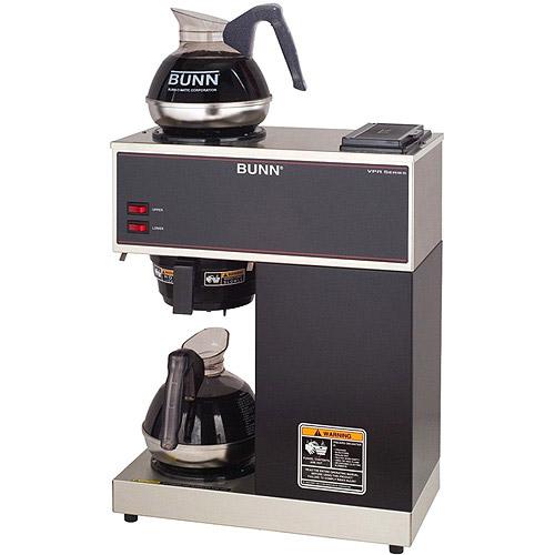 BUNN VPR 12 tazas comercial café Brewer, 2 calentadores, 33200 + BUNN en Veo y Compro