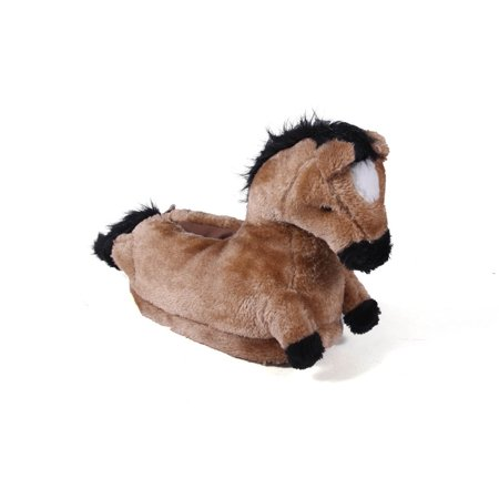 Comfy Feet - Happy Feet Mens and Womens Horse Animal Slippers - Walmart.com aeccc28c152a