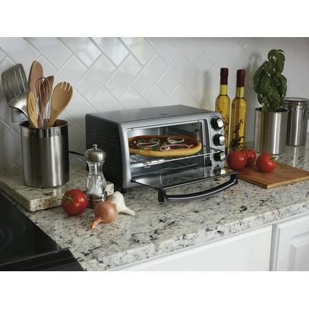 Hamilton Beach 4 Slice Toaster Oven Walmart Com