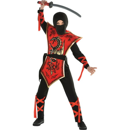 Ninja Assassin Halloween Costume for Boys, Extra Large, with (Assassin's Creed Brotherhood All Costumes)