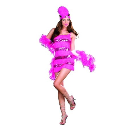 Sexy 20's Gatsby Girl Flapper Costume Adult (20's Girl Costume)