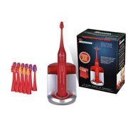 PURSONIC S450RD DELUXE Sonic Rechargeable Toothbrush  Red