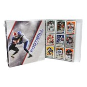 Ultimate Football Trading Card Collection Album Kit, 25 Pages Included (No Cards)