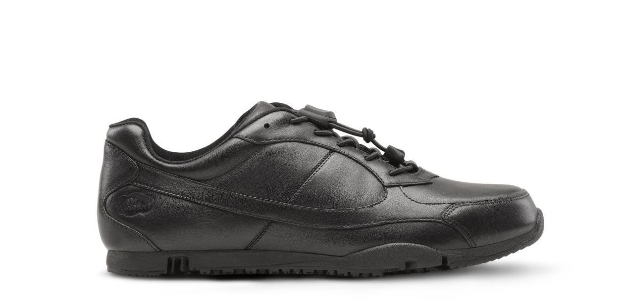 Dr. Comfort Womens Flex-OA AMY Black Diabetic Athletic Shoe