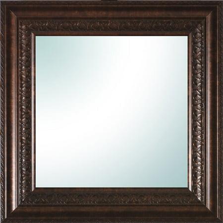 14 X 14 Bronze Ornate Square Mirror
