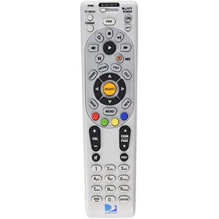 DIRECTV Rc66X Ir Remote Control - Universal Programmable 4-Device for H24 H25 Hr24 with Xmp (+ All Irs) , Batteries , Labels