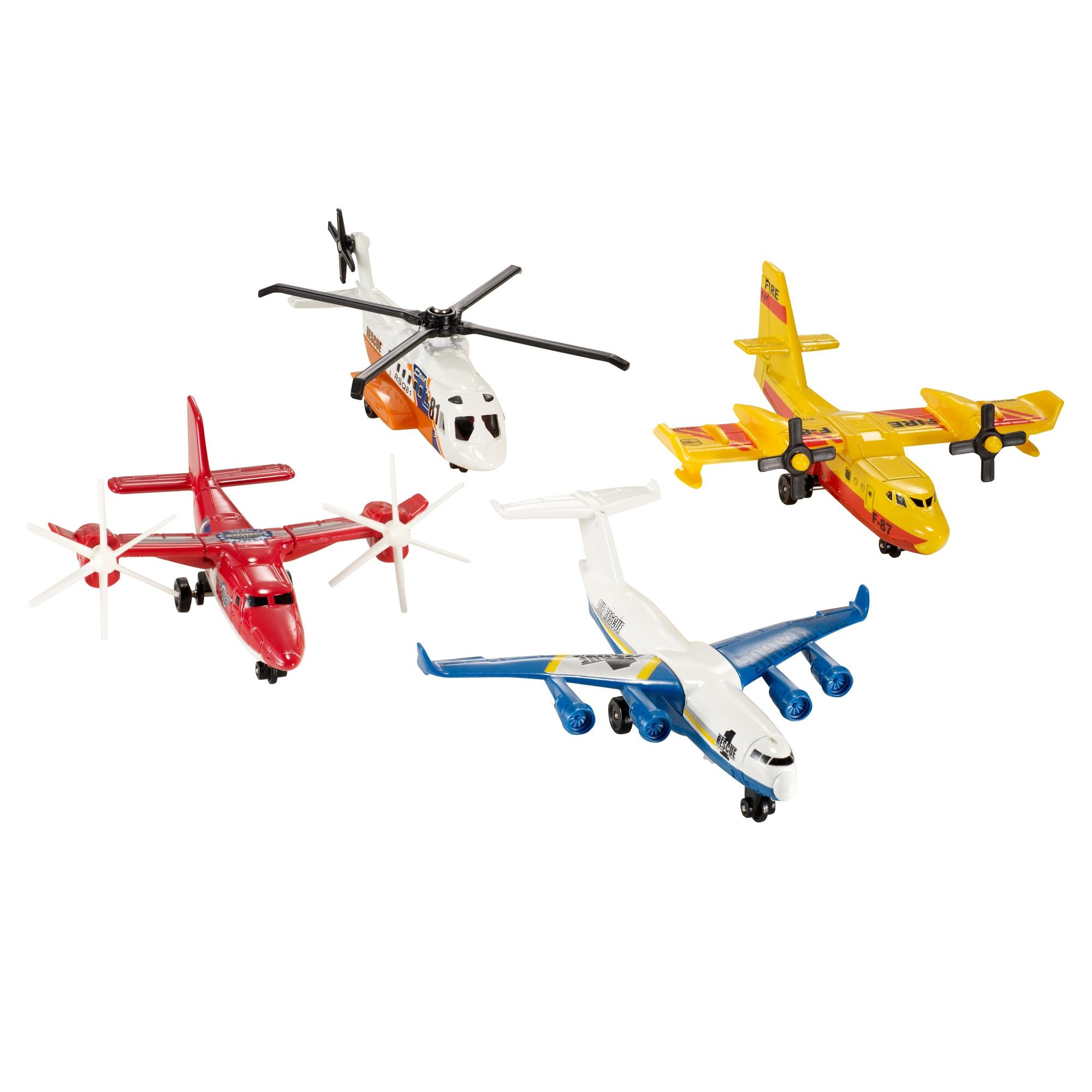 Matchbox Sky Busters 4 Pack (Styles May Vary)