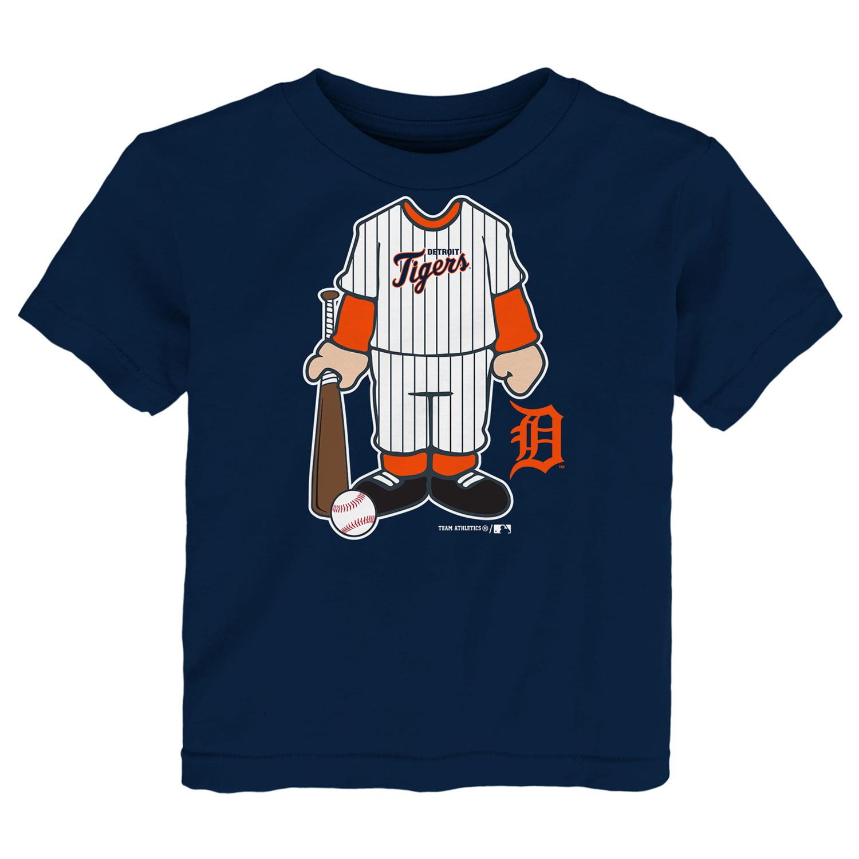 Infant Navy Detroit Tigers Uniform T-Shirt