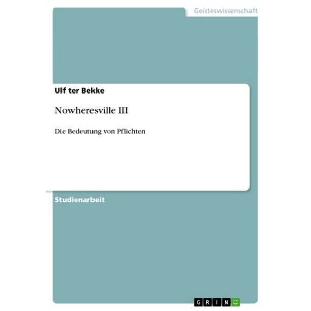 Nowheresville III - eBook
