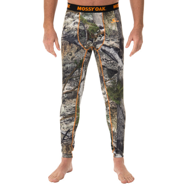 Realtree and Mossy Oak Men's Camouflage Hunting Thermal Base Layer Bottom by Intradeco