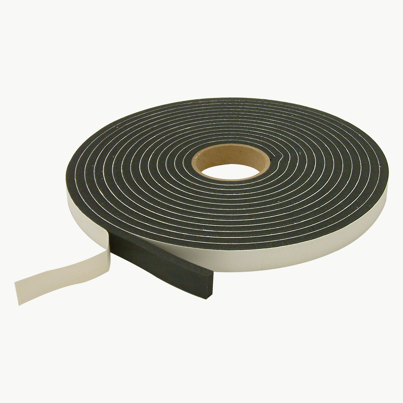 JVCC SCF-01 Single Coated PVC Foam Tape: 3/8 in. thick x 1 in. x 30 ft. (Black)