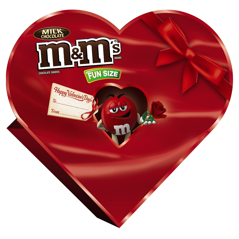 M&M's, Valenetine's Day Milk Chocolate Candy Heart Gift, 7.9 Oz